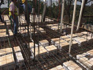 Construcción de losa aligerada